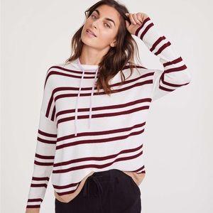 Lou & Grey shimmer stripe sweater!